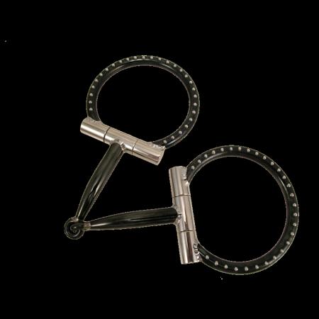 Black D-Ring Snaffle