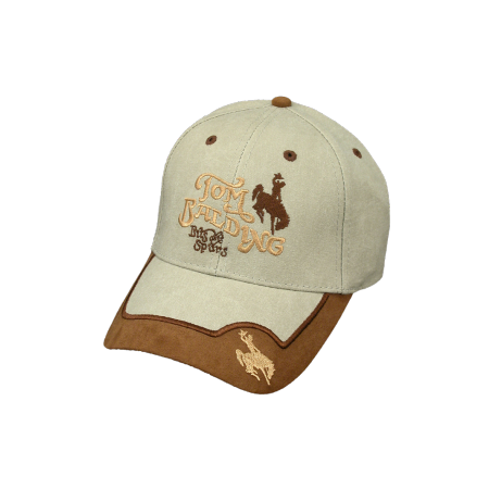 Cap #15 Khaki w/ Suede Brim
