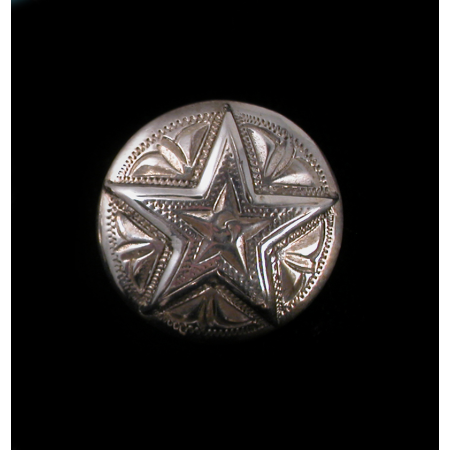 Star concho earring