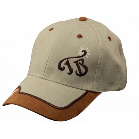 TB Rowel Logo Khaki w/suede Brim