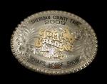 Tom Balding Bits & Spurs Trophy Buckle